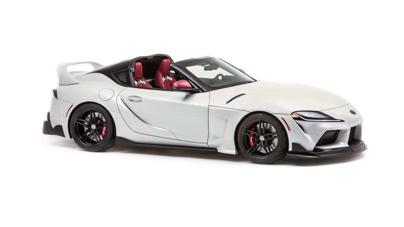 2021 Toyota supra with a sports top is the supra we need